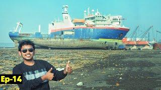 Where ships go to Die   Ship Graveyard   Alang Market   Bhavnagar to Vadodara Ep-14
