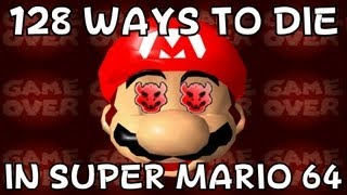 128 ways to die in Super Mario 64