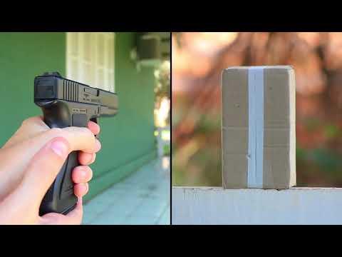 Unboxing e Testes - Glock G7 Spring KWC