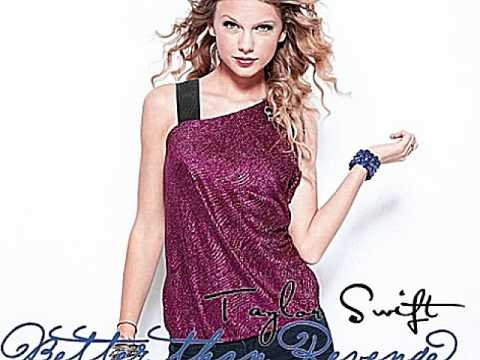 Taylor Swift Better than revenge song
