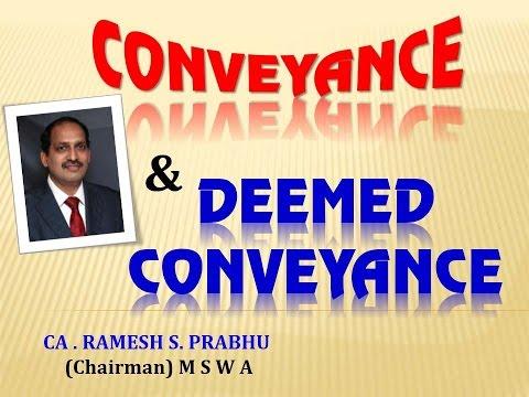 Deemed Conveyance, Team Parle, CA Ramesh Prabhu