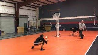 Skylar Blackmon - 2017 - Volleyball Skills Video - Libero/Setter
