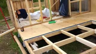 4ta parte Construcción de Casa sobre Pilotes