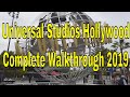 [HD] 2019 Universal Studios Hollywood *Steady Tour* Complete Walkthrough 2019