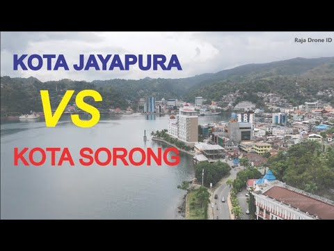 Kota Jayapura VS Kota Sorong, Kota Terbesar di Provinsi Papua dan Papua Barat Indonesia