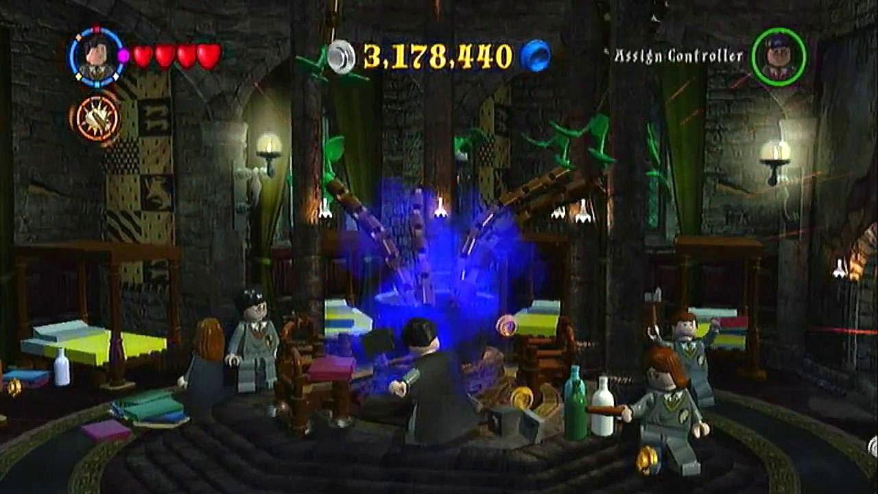 Lego Harry Potter Years 1-4 Walkthrough- Hufflepuff Common Room ...