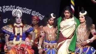 Yakshagana -- Manishada - 28 - ''KareyuvalaVee ..Raama ...Ramaa... '' Patla