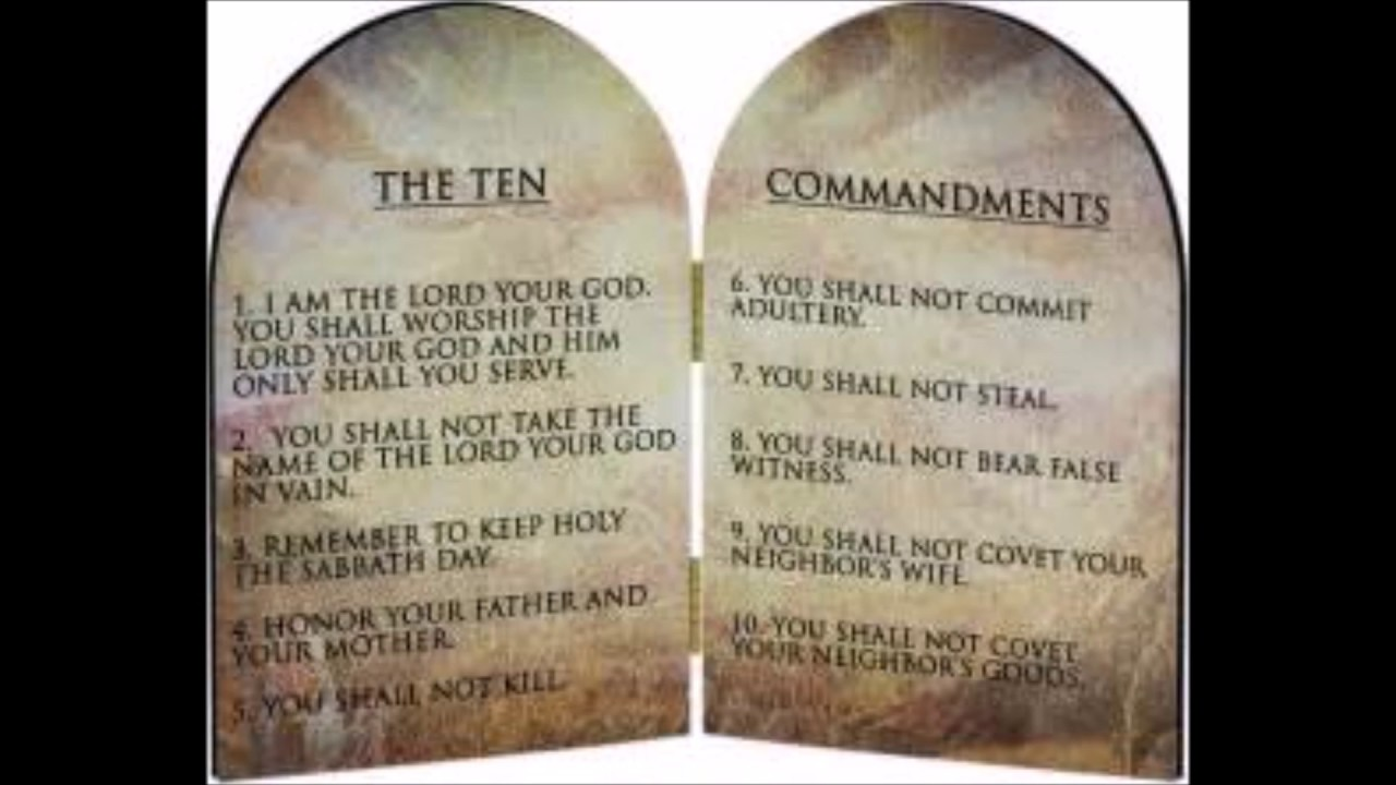 what is the 10 commandment