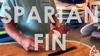 Spartan SUP Fin - Fibre Glas Fin Co - Larry Allison Finologist