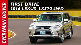 Here's the 2016 Lexus LX 570 on Everyman Driver