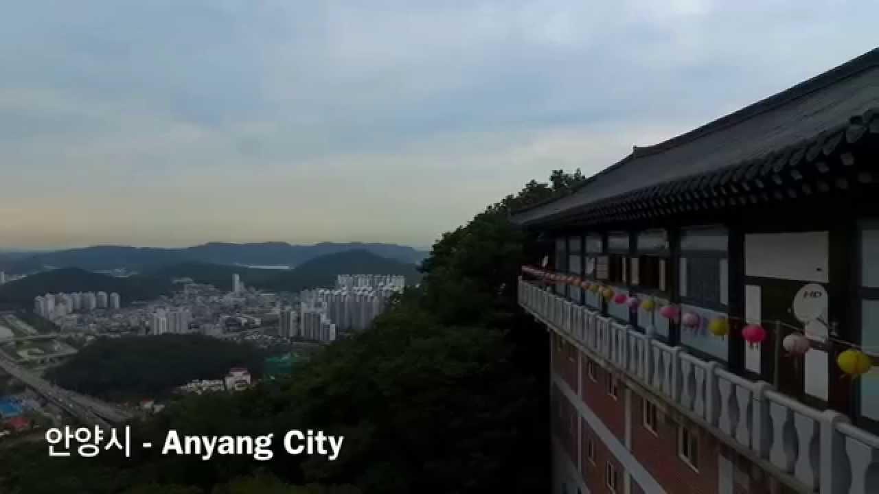 Anyang City u00ccu0095u0088u00ecu0096u0091u00ecu008bu009c In South Korea From Above Dji Phantom 3