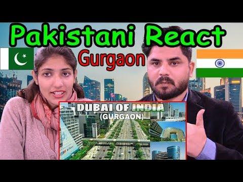 Pakistani Reacts To | GURGAON Modern City | Like a Dubai | Cyber hub | Gurgaon, Haryana, India