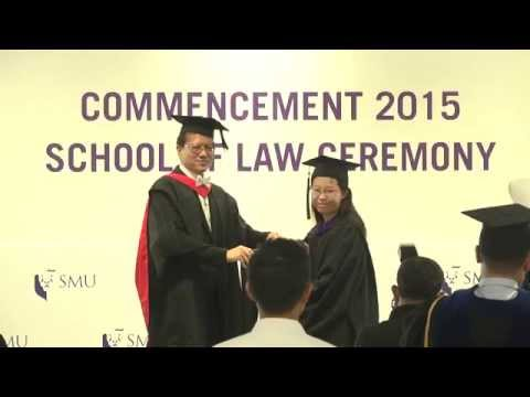 SMU Commencement 2015 - School of Law Ceremony