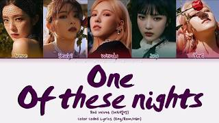 """Red Velvet - """"One Of These Nights 레드벨벳 '7월 7일"""" (Color Coded …"""