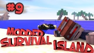 Survival Island Modded - Minecraft: Cow Escape! Part 9