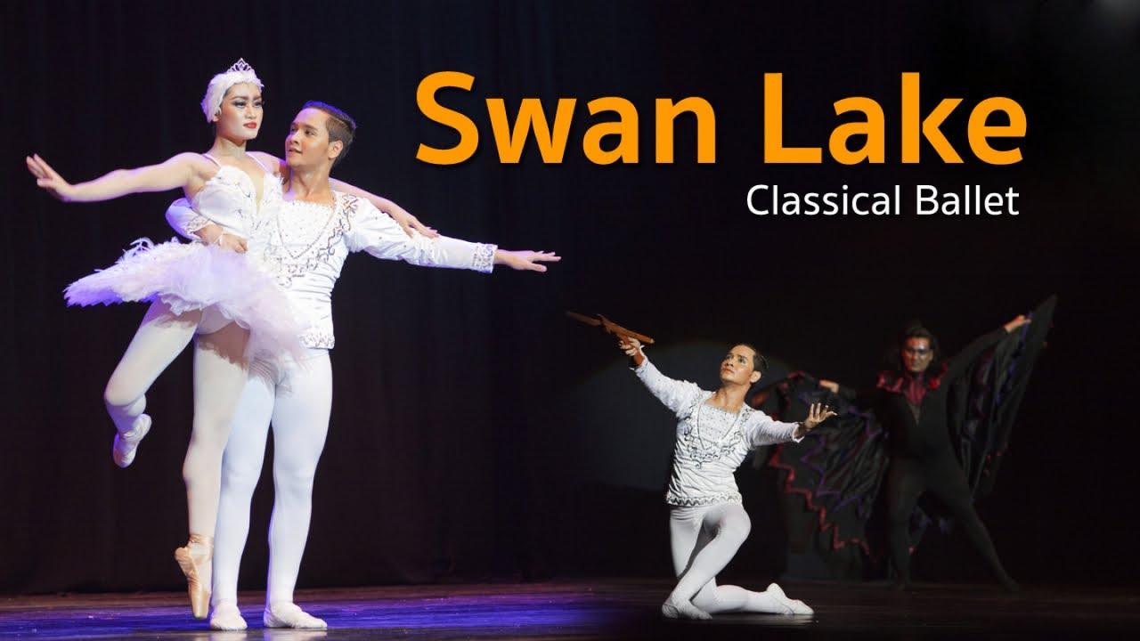 บัลเลต์ ชุด Swan Lake   Classical Ballet มหกรรมการแสดงเฉลิมพระเกียรติ โดยว.นาฏศิลป์/บัณฑิตพัฒนศิลป์