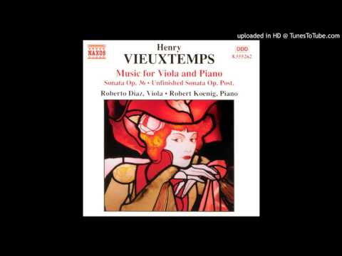 Vieuxtemps Unfinished Sonata for Viola and Piano - 1. Allegro