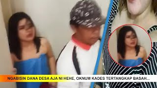 Bak Disambar Petir, Suami Lihat Istrinya di Kamar Hotel dengan Oknum Kades #iNIndonesia