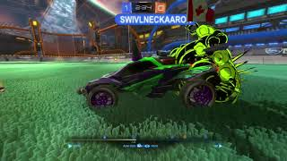 Part of my how to presentation. Rocket league - Doubles Platinum two