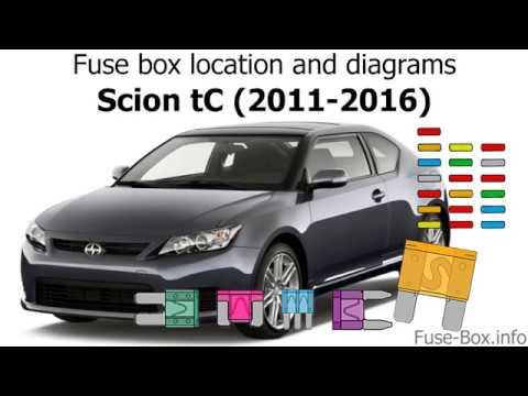 2011 Scion Tc Fuse Box Location Wiring Diagram