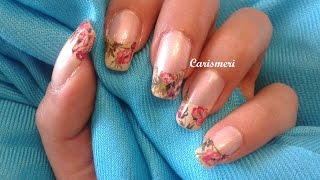 French Nail Art Water Decals - Born Pretty Store Review