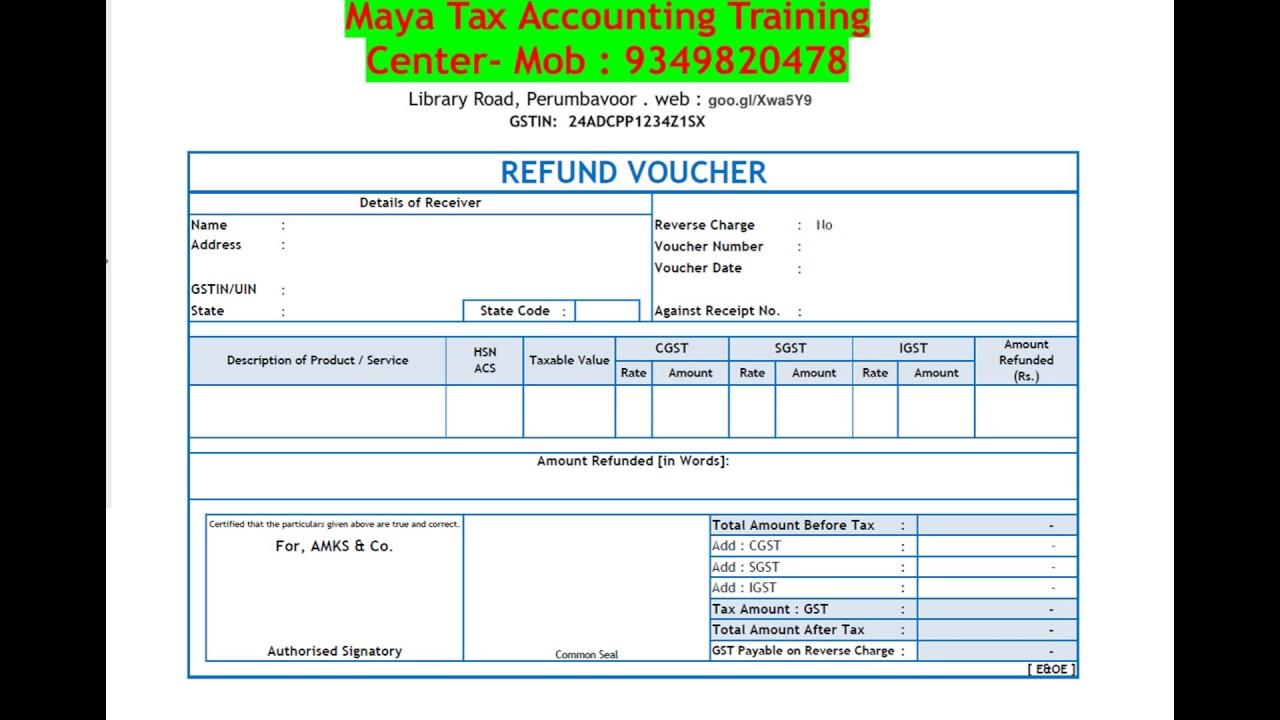 cash credit bill format