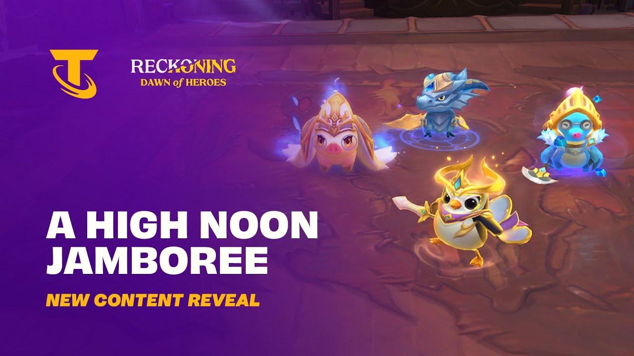 A High Noon Jamboree | New Content Reveal - Teamfight Tactics