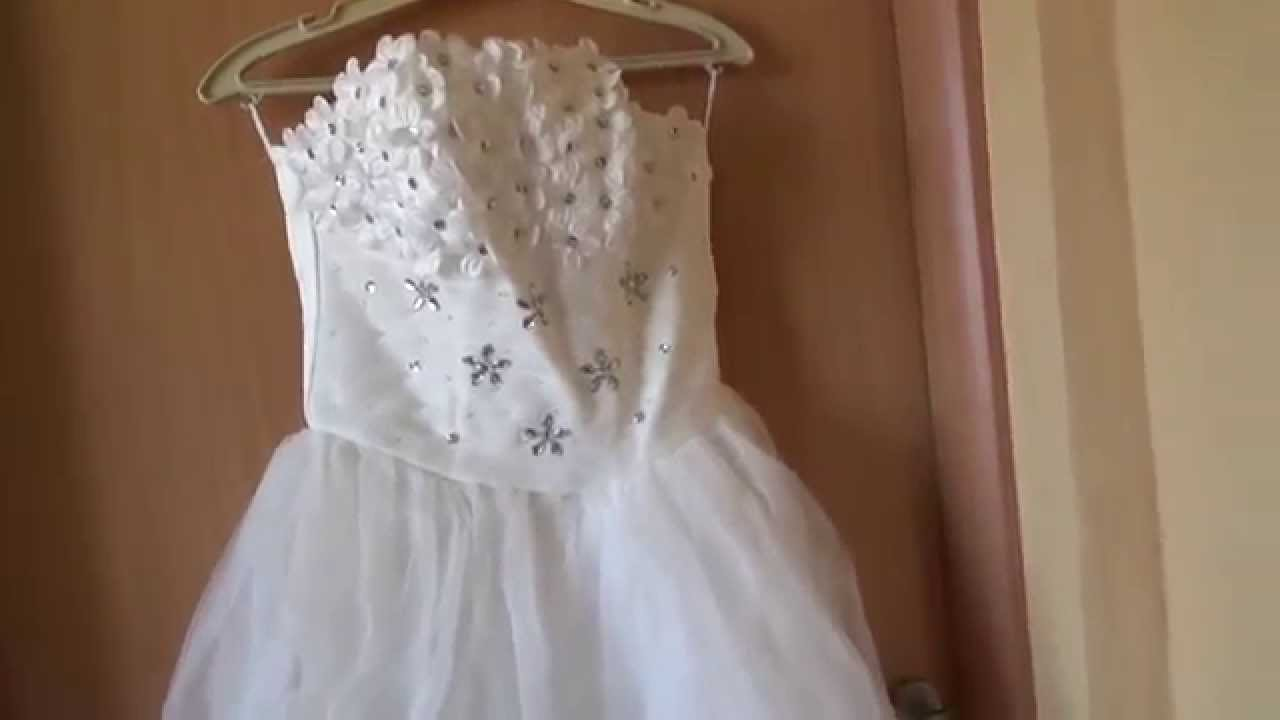 0acb12d9619fddc Свадебное платье с Aliexpress за 50$ Парадокс - YouTube