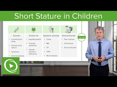 Short Stature in Children: Diagnosis & Clinical Presentation – Pediatric Endocrinology | Lecturio