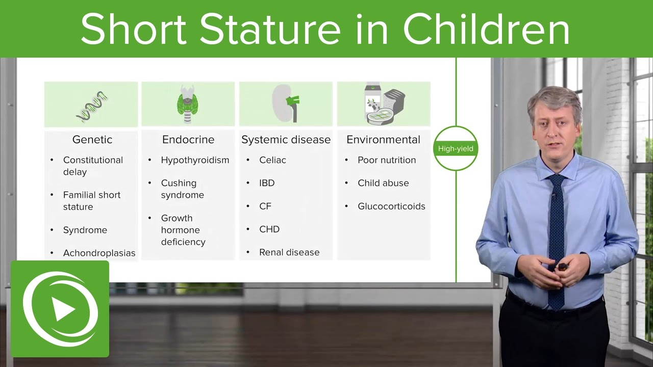 Short Stature in Children: Diagnosis & Clinical Presentation