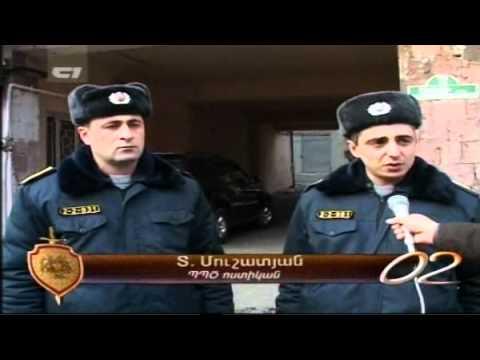 Www.police.am - 02 Armenian Police TV Program - 12.01.2012