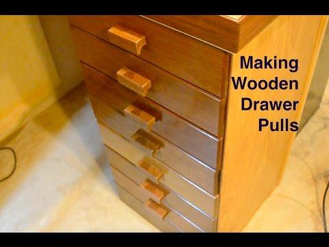 Making Wooden Drawer Pulls