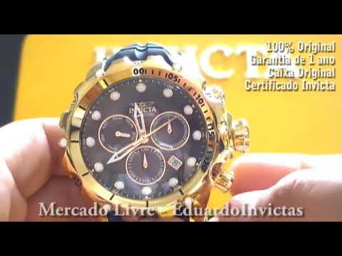 Relógio Invicta 26244 Venom Masculino Original + Nf