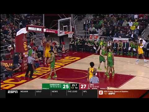 Men's Basketball: USC 66, Oregon 49 - Highlights 02/21/19