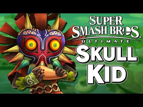 IS SKULL KID THE NEXT FIGHTER IN SMASH ULTIMATE!? - Super Smash Bros. – Aaronitmar
