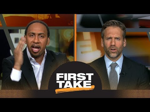 Stephen A. Smith goes off on Max Kellerman about 2017 NBA Finals during debate | First Take | ESPN