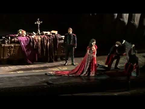 Tosca. Orsù, Tosca, parlate. Ainhoa Arteta. Boris Statsenko