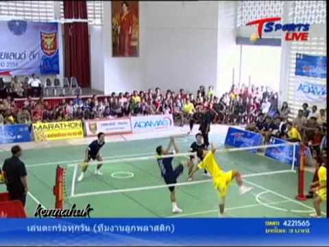 2011 Sepak Takraw Thailand League ''Loei vs Phrae 2 of 6