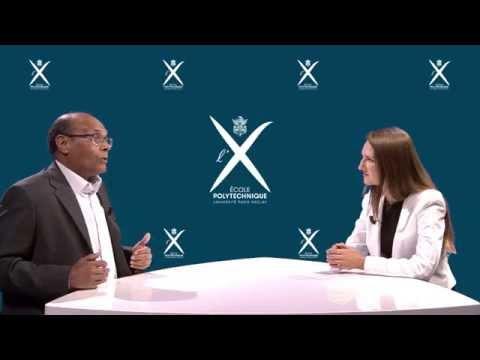 Mohamed Moncef Marzouki est l'invité de l'X