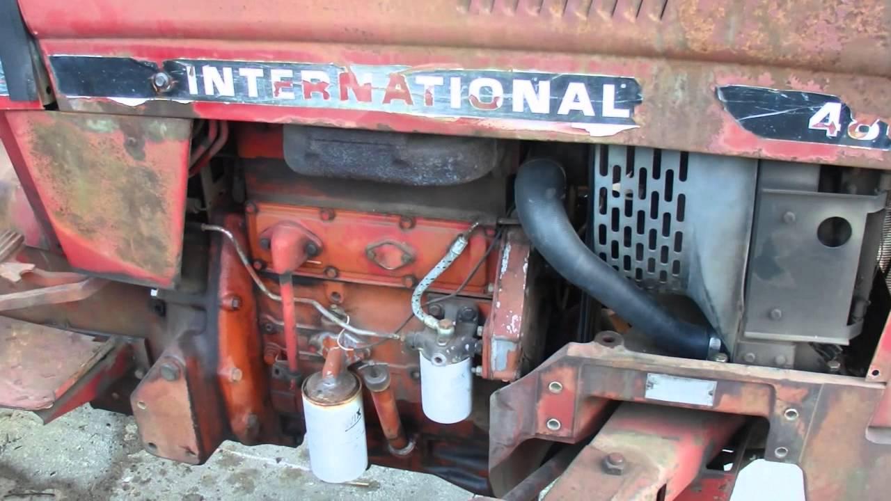 1980 International 484 Start And Walk Around Pre