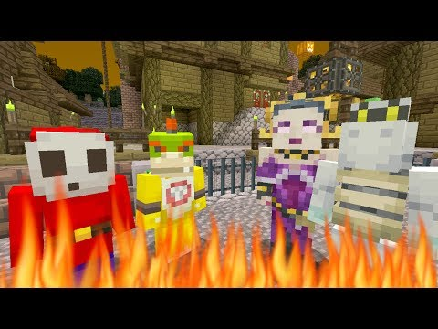 Minecraft Switch - Nintendo Fun House - BOWSER JR GOES TO HELL! [94]
