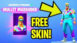 "Fortnite: Comment obtenir ""AEROBIC ASSASSIN"" GRATUIT! - MULLET MARAUDER (Fortnite Daily Item Shop)"