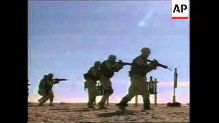 VOICER US troops in urban warfare training