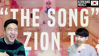 Zion.T - '노래(THE SONG)' M/V Korean Reaction!
