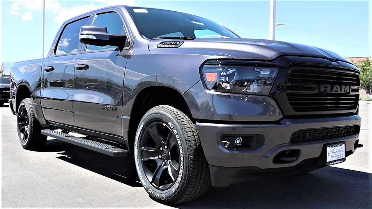 2020 Ram 1500 Big Horn Night Edition The Night Edition Is Finally Back