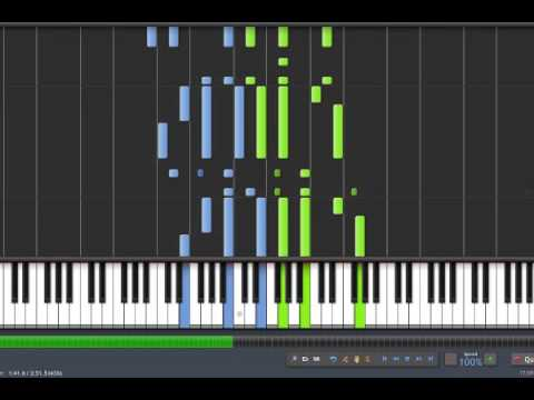 Tchaikovsky  The Seasons  June  Barcarolle  Synthesia Piano Tutorial