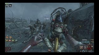 Black Ops 2 Zombies: ORIGINS Round 90 Co-op