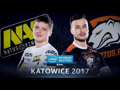 CS:GO - Na'Vi Vs. VP [Train] - Group B - IEM Katowice 2017