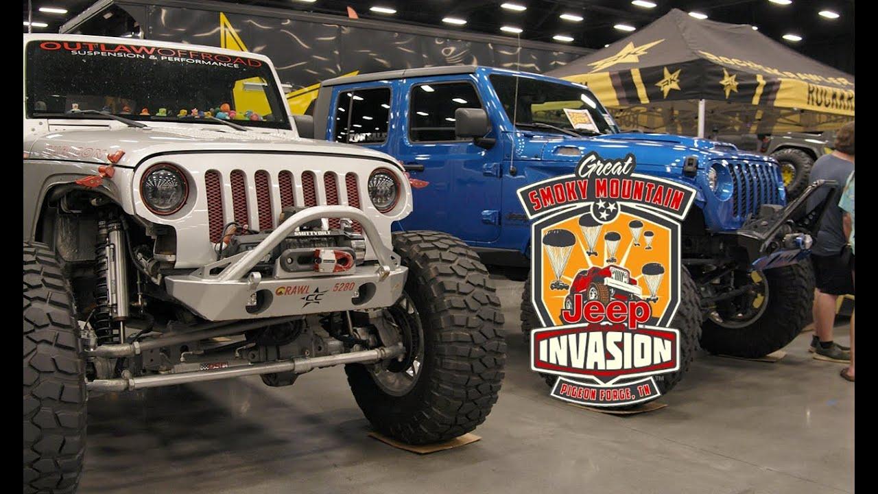 2021 Great Smokey Mountain Jeep Invasion