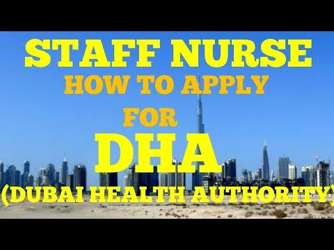 DHA (dubai health authority ) full process to apply for DHA## staff nurse